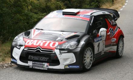 Una CITROEN DS3 WRC dall'alto valore storico