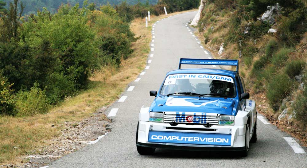 Metro Gruppo B al Rallye de Fayence 2017