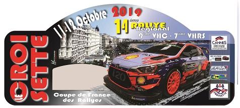 Rallye de la Croisette – 11/12 Ottobre 2019