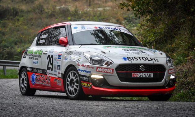 Alessandro D'Ambrosio: obiettivo Campionato Rally Liguria