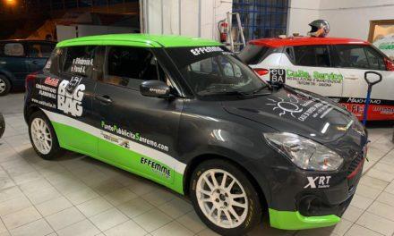 Pronta la Suzuki Swift R1 di Alessandro D'Ambrosio: inizia l'avventura dalla Ronde del Val Merula
