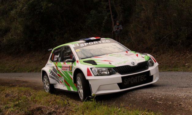 Eccellente esordio su asfalto nella classe R5 per Mathieu Franceschi