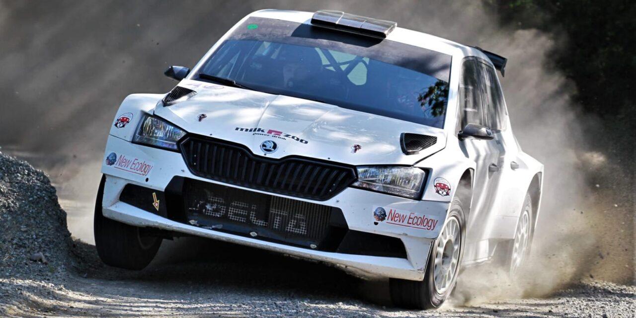 Alberto Battistolli in test: si riparte dalla terra con la Fabia R5
