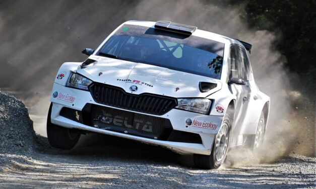 Alberto Battistolli in test: si riparte dalla terra con la Fabia R5
