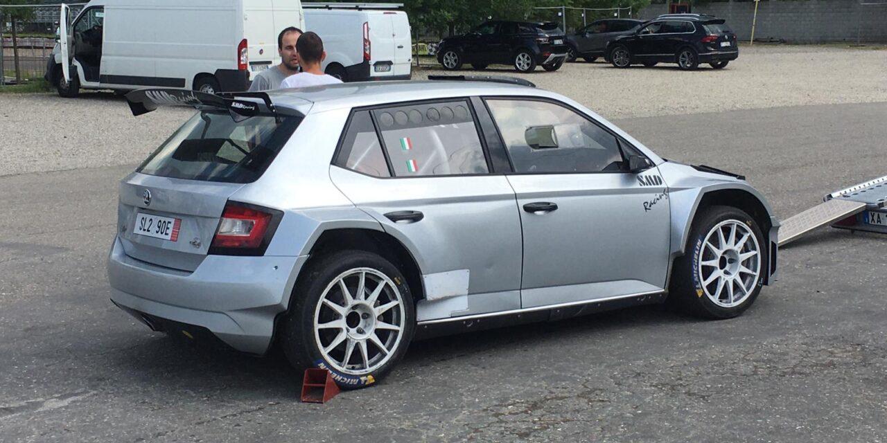SMD Racing: via ai test con la Skoda Fabia R5 a Castelletto di Branduzzo