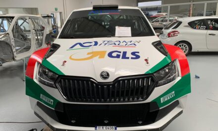 Alberto Battistolli si scalda per il Rally di Roma Capitale partecipando al Coppa Città di Lucca