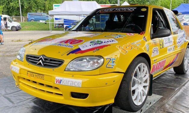 Andrea Gonella ricomincia in grande dal Rally della Lana